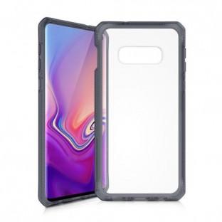 ITSkins Samsung Galaxy S10e Hybrid MKII Schutz Hardcase Hülle (Fallschutz 2 Meter) Schwarz (SGSL-HYBMK-BKTR)