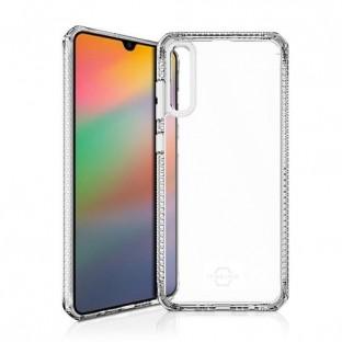 ITSkins Samsung Galaxy A70 Hybrid Clear Schutz Hardcase Hülle (Fallschutz 2 Meter) Transparent (SG07-HBMKC-TRSP)