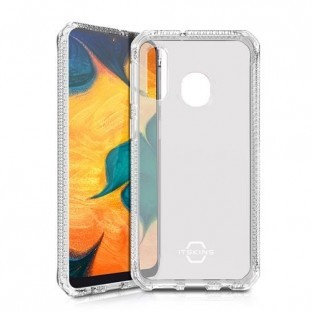ITSkins Samsung Galaxy A40 Spectrum Protection Hardcase Cover (Drop Protection 2 meters) Transparent (SG04-SPECM-TRSP)