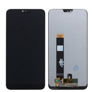 Nokia 7.1 LCD Ersatzdisplay Schwarz OEM