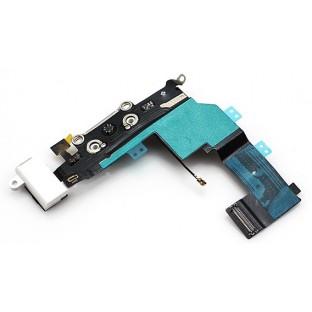 prise de charge pour iPhone 5S / Connecteur Lightning Blanc (A1453, A1457, A1518, A1528, A1530, A1533)