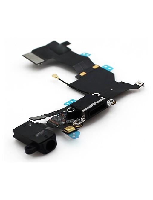 prise de charge de l'iPhone 5S / Connecteur Lightning noir (A1453, A1457, A1518, A1528, A1530, A1533)