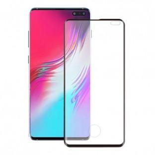 """Eiger Samsung Galaxy S10 5G (6.7"""") 3D Panzer Glas Display Schutzfolie mit Rahmen Schwarz (EGSP00507)"""