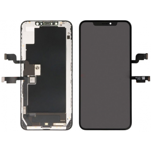 iPhone Xs Max AMOLED LCD Digitizer Rahmen Ersatzdisplay