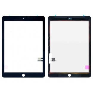 iPad 9.7 (2018) Touchscreen Glas Digitizer Schwarz (A1893, A1954)