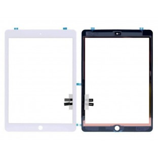 iPad 9.7 (2018) Touchscreen Glas Digitizer Weiss (A1893, A1954)