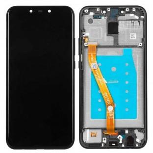 Huawei Mate 20 Lite LCD Digitizer Ersatzdisplay + Rahmen Vormontiert Schwarz