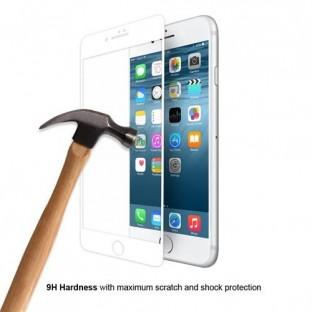 """Eiger Apple iPhone SE (2020), 8, 7, 6S, 6 Verre d'écran """"3D Glass Case-Friendly white"""" (EGSP00145)"""