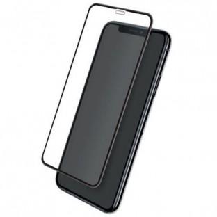 """Eiger Verre d'écran pour Apple iPhone 11, XR """"3D Glass clear/black"""" (EGSP00523)"""
