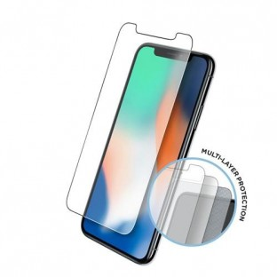 Eiger Apple iPhone 11 Pro Max, XS Max Display Glass (Pack of 2) Tri Flex High-Impact clear (EGSP00529)
