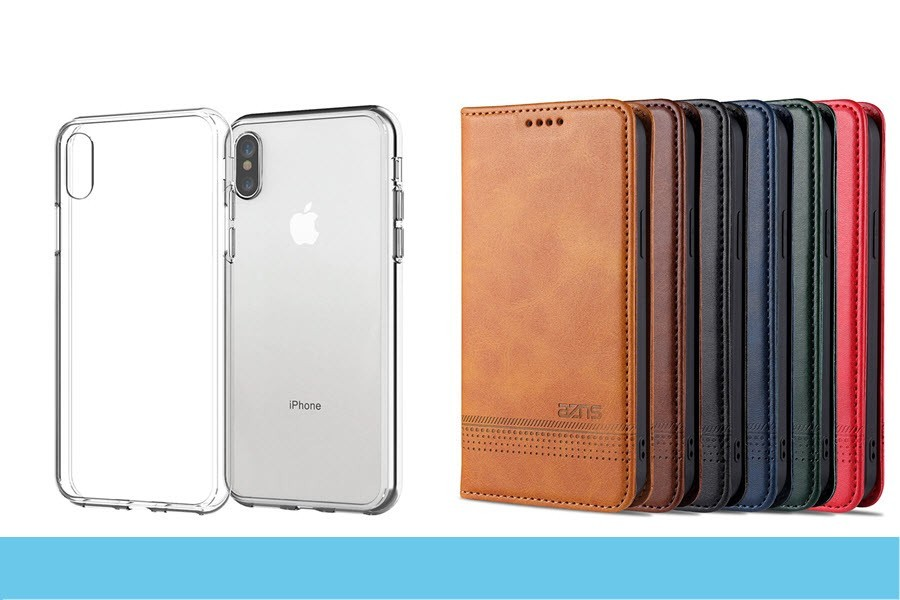 iPhone X Cases / Sleeves / Bags