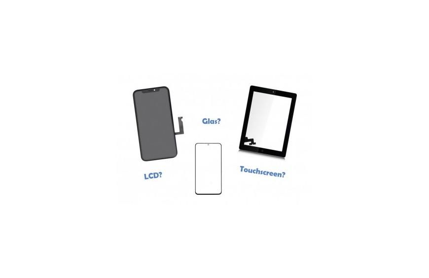 Der Unterschied zwischen Display, Touchscreen und Glas bei Smartphones und Tablets
